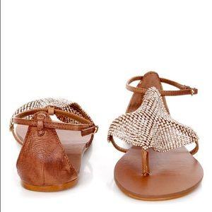 Steve Madden Shineyy Rhinestone Thong Sandals